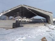 Строительство складов,  ангаров из своих материалов