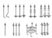 Производство фундаментных болтов по чертежу,  ГОСТу